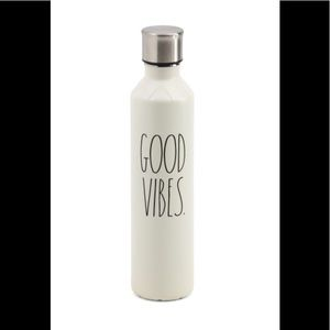 Good Vibes insulated water bottle 17 oz